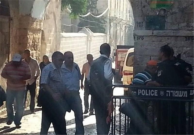"""الارهابیان """"فیغلین و""""غلیک"""" یقتحمان الأقصى وسط حرّاسة مشددة من سلطات الاحتلال"""