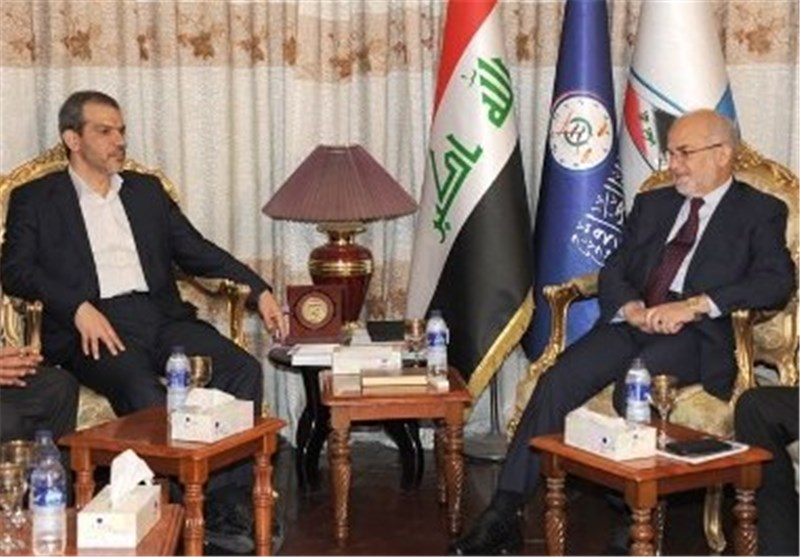 الجعفری یبحث مع سفیر ایران الاسلامیة فى العراق التطورات السیاسیة والعلاقات بین البلدین