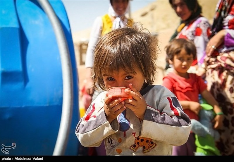 کم آبی در زنجان