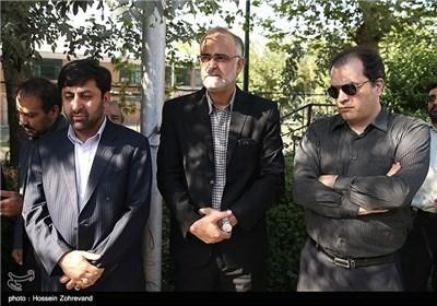 تشییع جثمان الصحفی مهدی نفر فی طهران