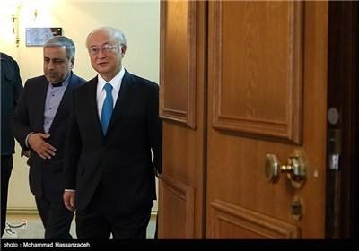 وزیر الخارجیة یستقبل المدیر العام للوکالة الدولیة للطاقة الذریة
