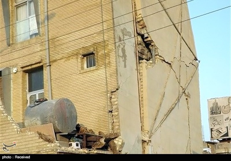 خسارات ناشی از زلزله ایلام