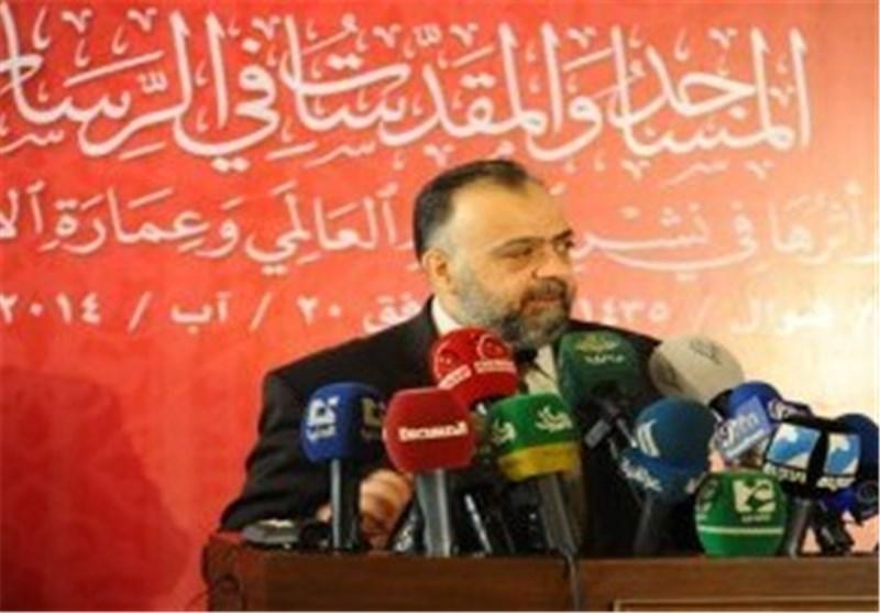 وزیر الأوقاف السوری : المؤامرة على سوریا فشلت وبوصلتنا لن تنحرف عن الأقصى