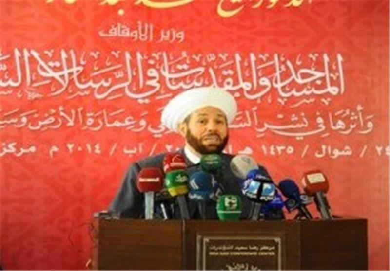 المفتی السوری : استهداف الإرهاب لسوریا هو استهداف للأمتین العربیة والإسلامیة