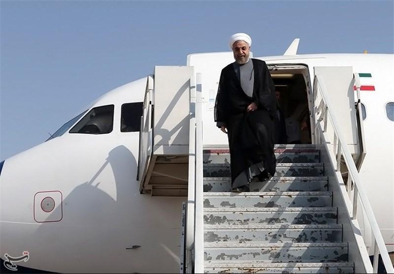 روحانی نجف را به مقصد تهران ترک کرد