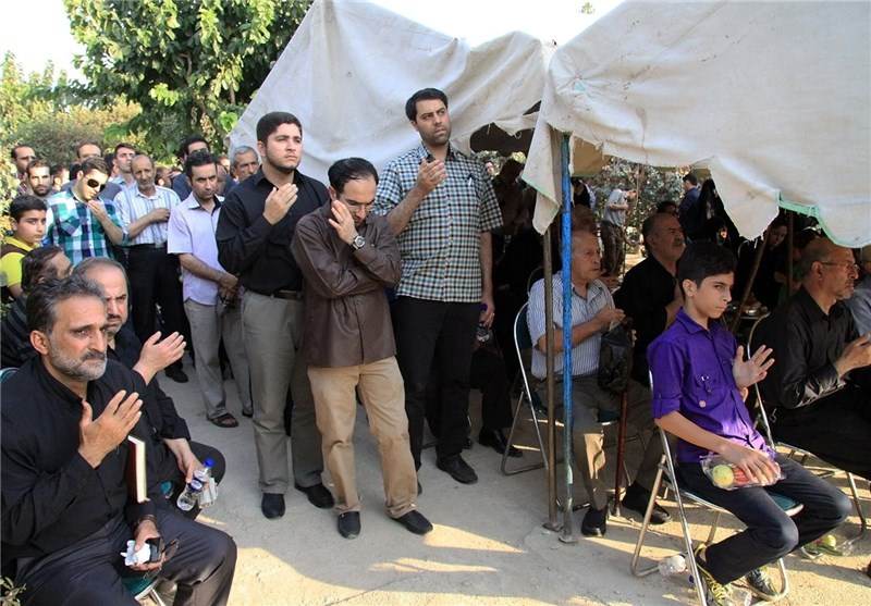 مراسم سالگرد دانشجوی نخبه معین رئیسی