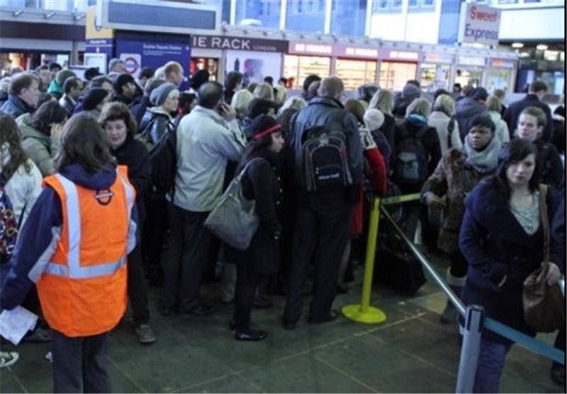 اعتصاب مترو لندن