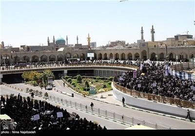 مواکب العزاء تعزی الامام الرضا (ع) باستشهاد جده الامام الصادق(ع)