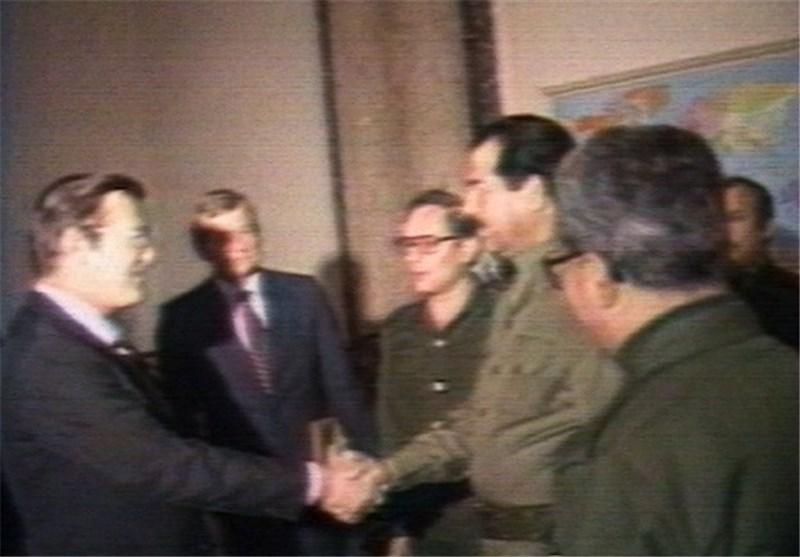 """محلل امریکی : واشنطن وظّفت """"صدام"""" وکیلاً لمصالحها فی الشرق الاوسط"""