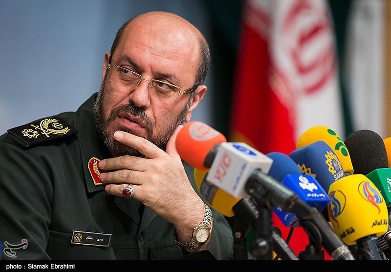 سردار حسین دهقان وزیر دفاع و پشتیبانی نیروهای مسلح