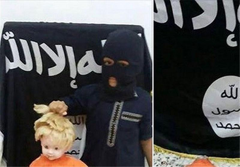"""""""داعش"""" یدرّب الأطفال على """"الذبح""""! +صورة"""
