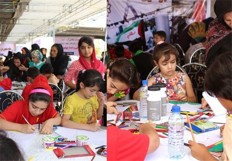 کتاب آثار نقاشی برگزیده در مسابقات بینالمللی کودکان و نوجوانان اردبیل چاپ میشود