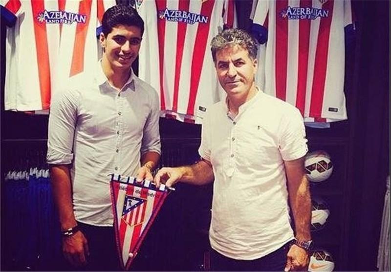 Atletico Madrid Signs Saeid Ezzatollahi
