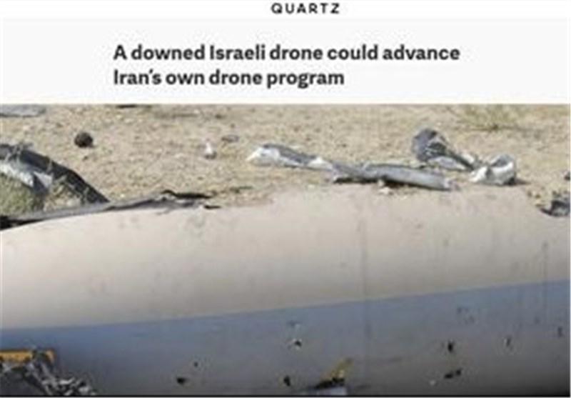 موقع أمریکی: « اسرائیل» ینتابها قلق شدید من اسقاط طائرتها دون طیار فی ایران