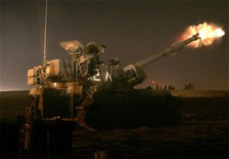 """الکیان الصهیونی یقصف منطقة فی جنوب لبنان بـ"""" 15"""" قذیفة مدفعیة"""
