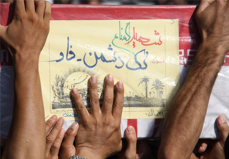 تشییع پیکر شهید گمنام سمنان/