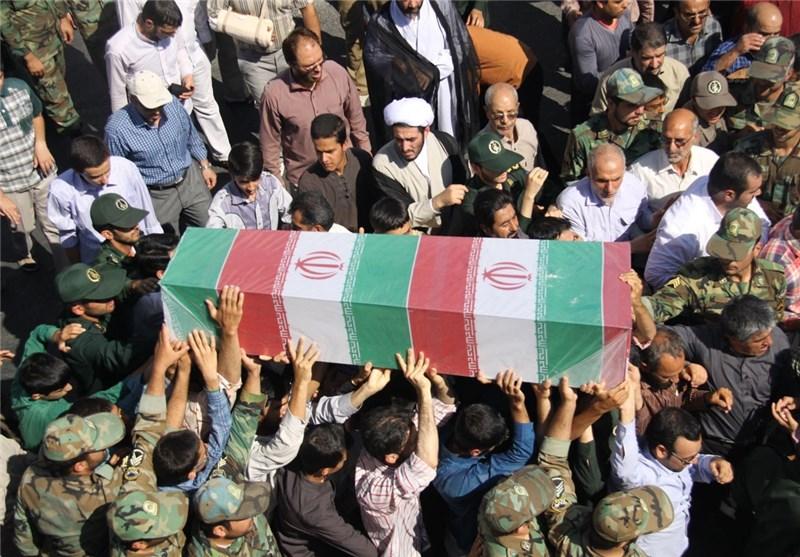 مردم مازندران با دو شهید گمنام وداع کردند