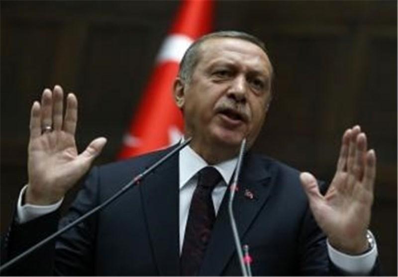 """أردوغان یطرح أربعة شروط للانضمام الى التحالف الامریکی ضد """"داعش"""""""