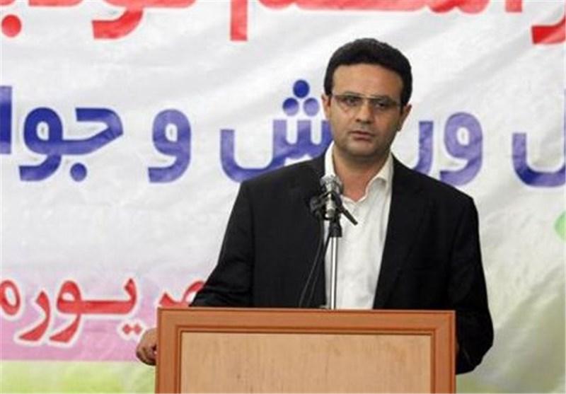 بسیج در ساخت سالنهای ورزشی مازندران مشارکت میکند