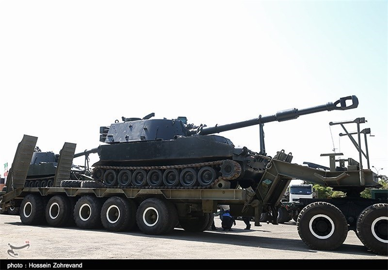 iran s army ground force furnished with new weapons