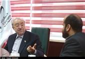 حضور عسگر اولادی در خبرگزاری تسنیم