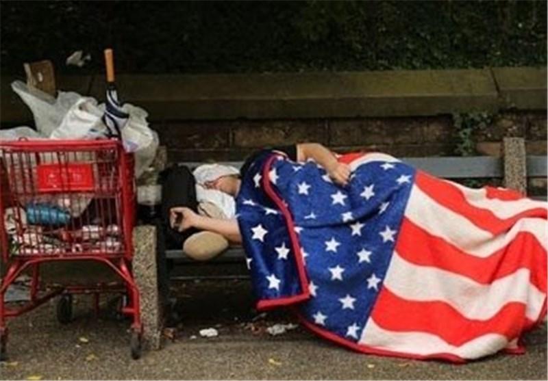 فقر آمریکا