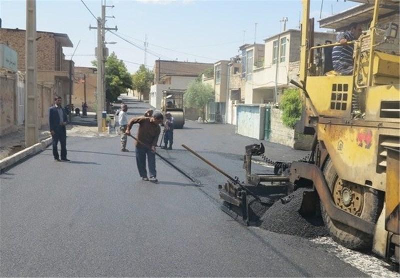 28 میلیارد تومان هزینه آسفالت معابر شهر همدان شد