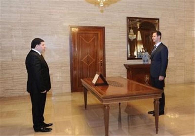 بشار الأسد : الأمن والحرب ضد الإرهابیین أول التحدیات امام الحکومة الجدیدة