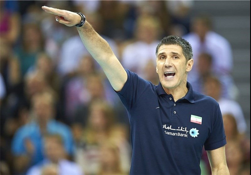 US Thought It Would Win Iran, Iran Volleyball Coach Says