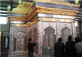 حرم الامامین العسکریین (ع) یفرش بالرخام الایرانی+صور