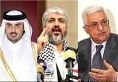 قطر محمود عباس شیخ تمم خالد مشعل