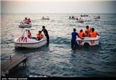 موج سواری دلتا در سواحل مازندران/ بازهم محدودیتها مانع از جابهجایی جمعیت نشد+ فیلم
