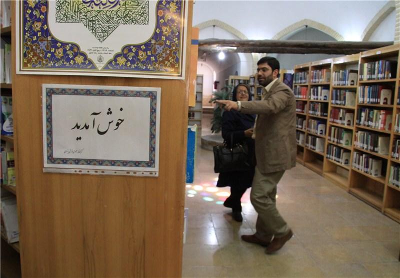 بازدید هیئت نهاد کتابخانهها از کتابخانههای یزد