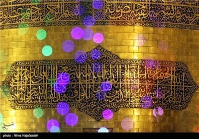 حرم الامام الرضا (ع) فی مولده السعید