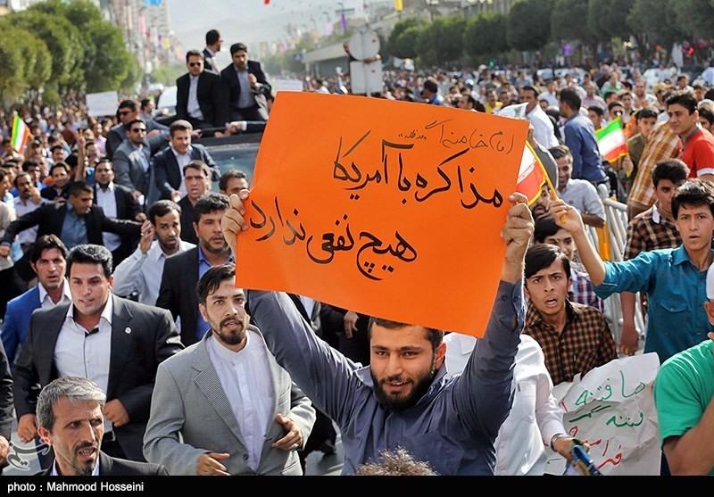 سفر روحانی به مشهد مذاکره با آمریکا