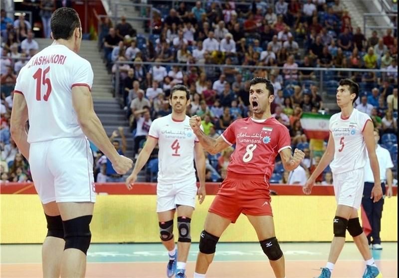 والیبال ایران فرهاد ظریف