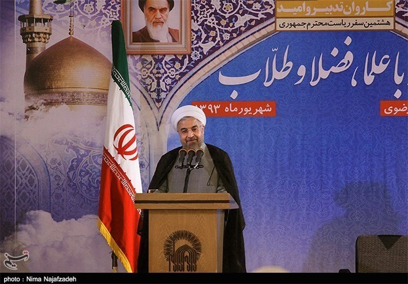Iran Recognized for Anti-Violence, Anti-Terrorism: President