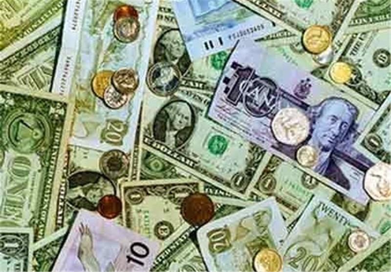 دلار ارز پول بانک