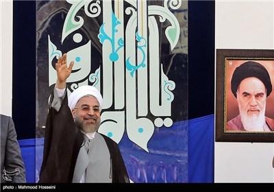 President Rouhani Visits Iran's Mashhad