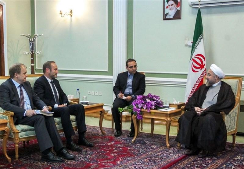 روحانی وزیر خارجه دانمارک