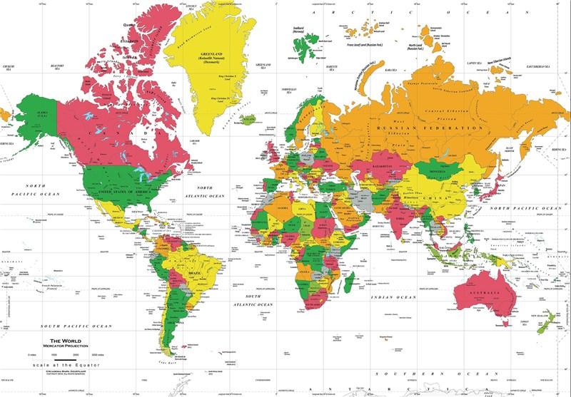 کشورهایی که مرزهایشان ناپدید شده است!