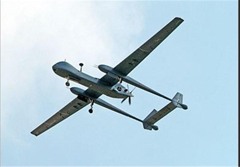 طائرات بدون طیار خلال الغارة الصهیونیة على سوریا
