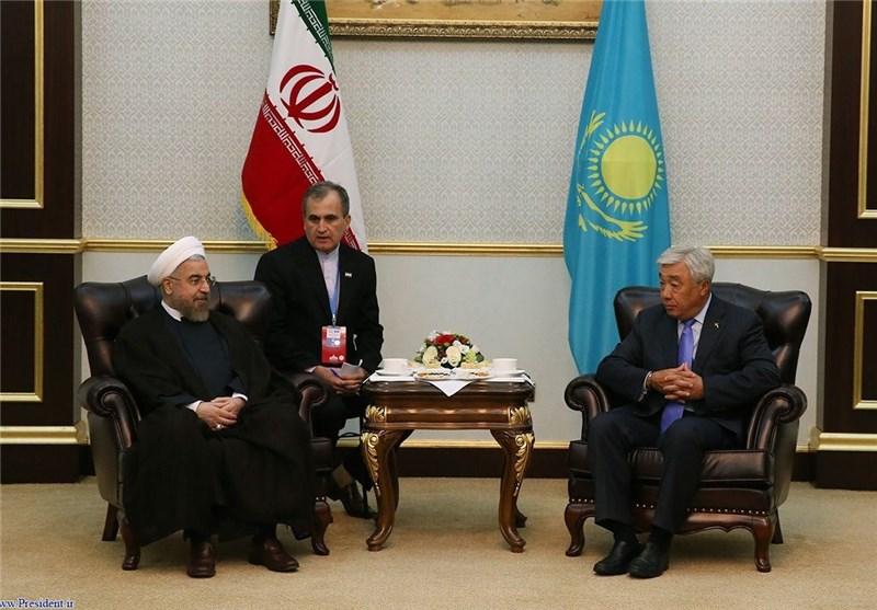 انعقاد المحادثات السیاسیة والاقتصادیة بین ایران وکازاخستان