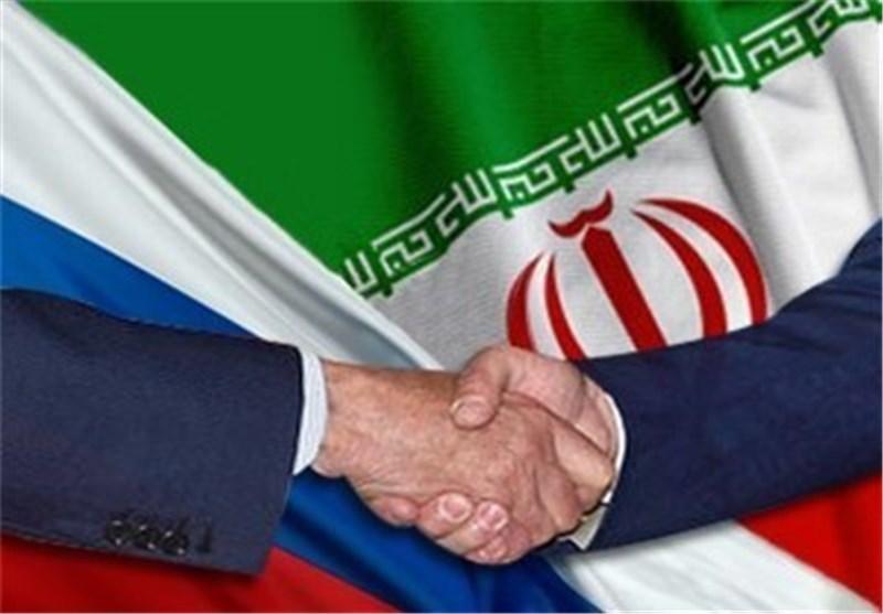 پرچم ایران وروسیه