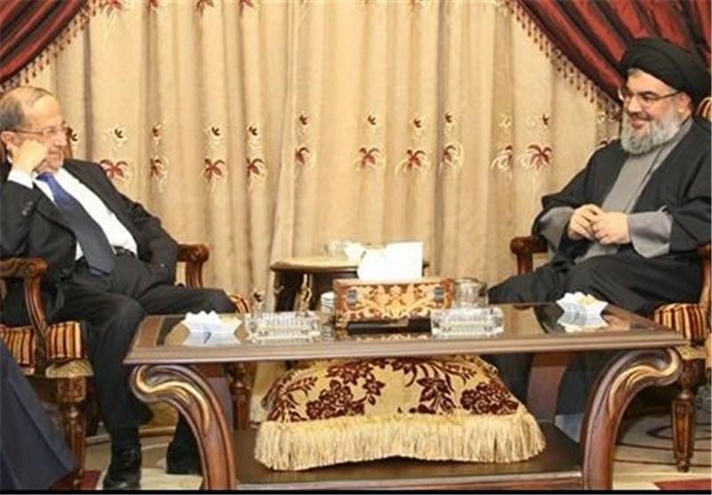 السید نصر الله یستعرض مع میشال عون الأوضاع فی لبنان والمنطقة
