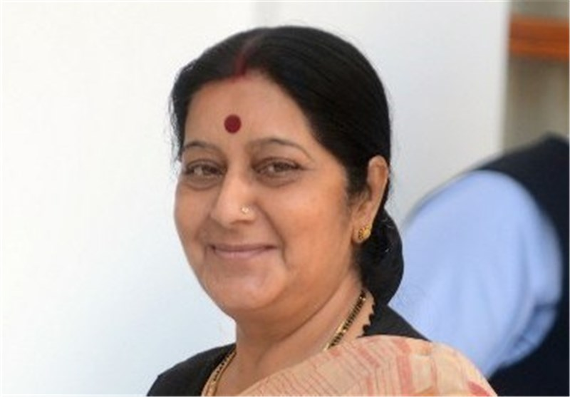 India's External Affairs Minister in Tehran for Talks