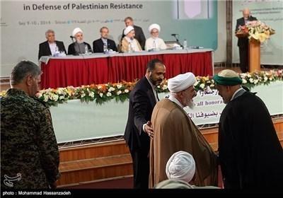 بدء أعمال الملتقى الدولی لعلماء الاسلام فی طهران دعما للمقاومة الفلسطینیة