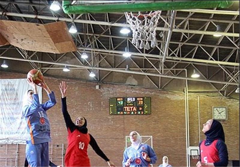 حریفان استقلال ساری در لیگ بسکتبال بانوان کشور مشخص شدند