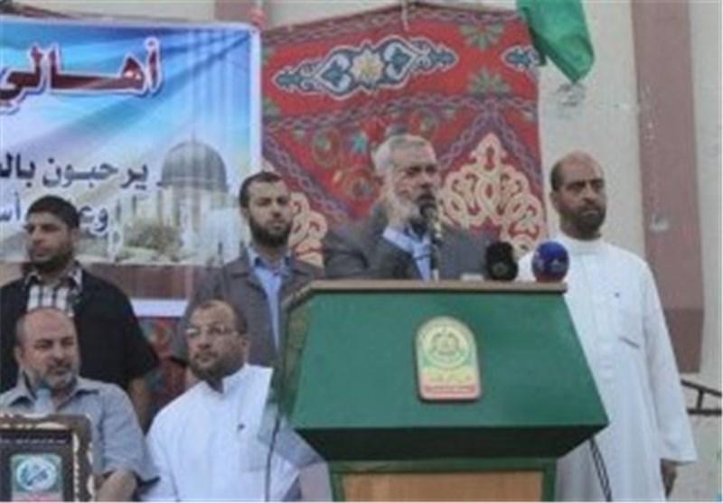 """هنیة"""" یرفض ربط إعادة إعمار قطاع غزة بنزع سلاح المقاومة"""