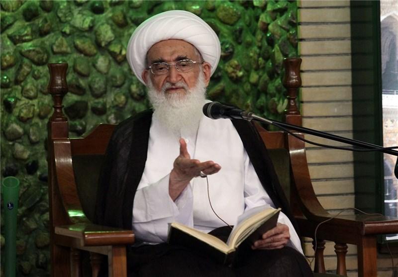 آیة الله نوری الهمدانی: ایران الاسلامیة باتت الیوم بمثابة الشوکة فی عیون الاعداء